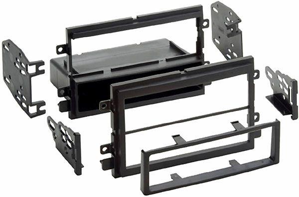 05-09 Radioblende Doppel-ISO Einbaukit mit Ablagefach für Ford