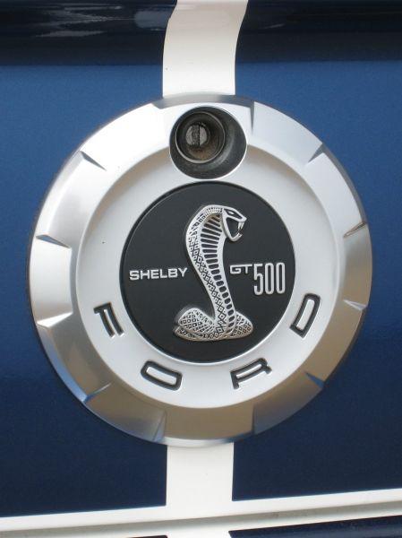 07-09 GT500 Ford OEM Kofferraumemblem - Shelby GT500