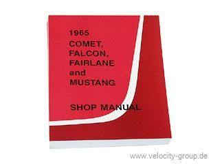 1965 Ford Mustang Reparaturhandbuch