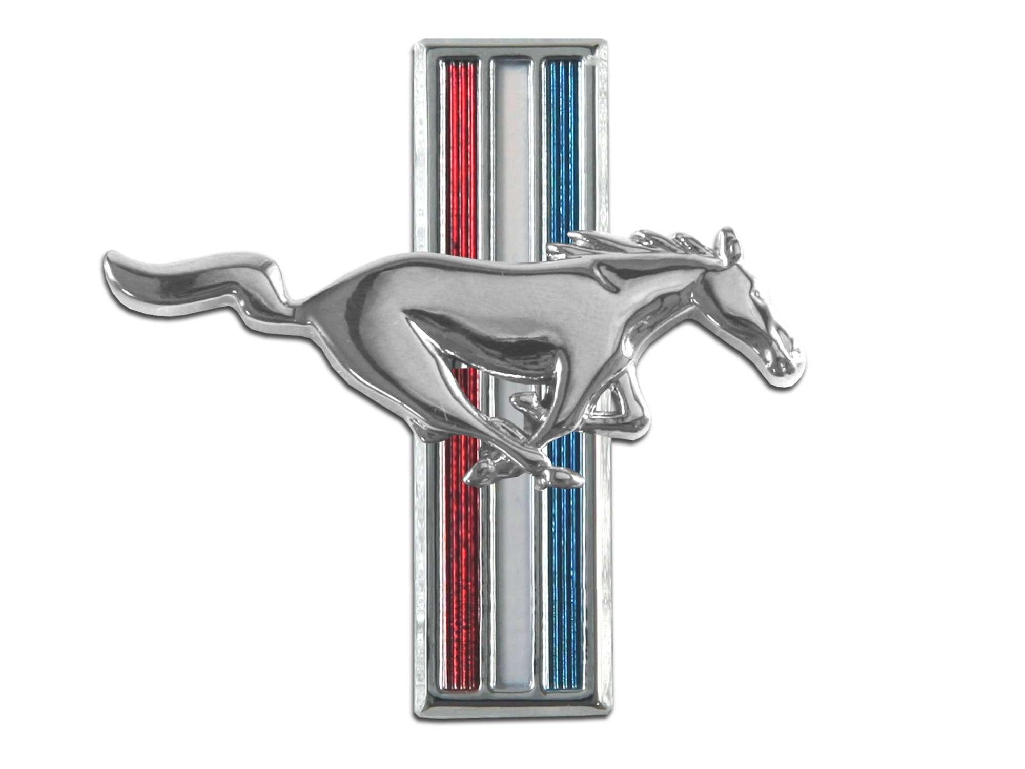 64 68 Ford Mustang Emblem Kotflügel Rechts