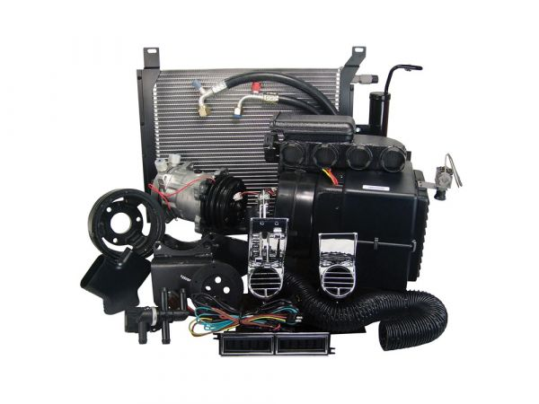 1967 Ford Mustang (390/428) Klimaanlagennachrüstung - Ohne OE Klima - OE Auslässe