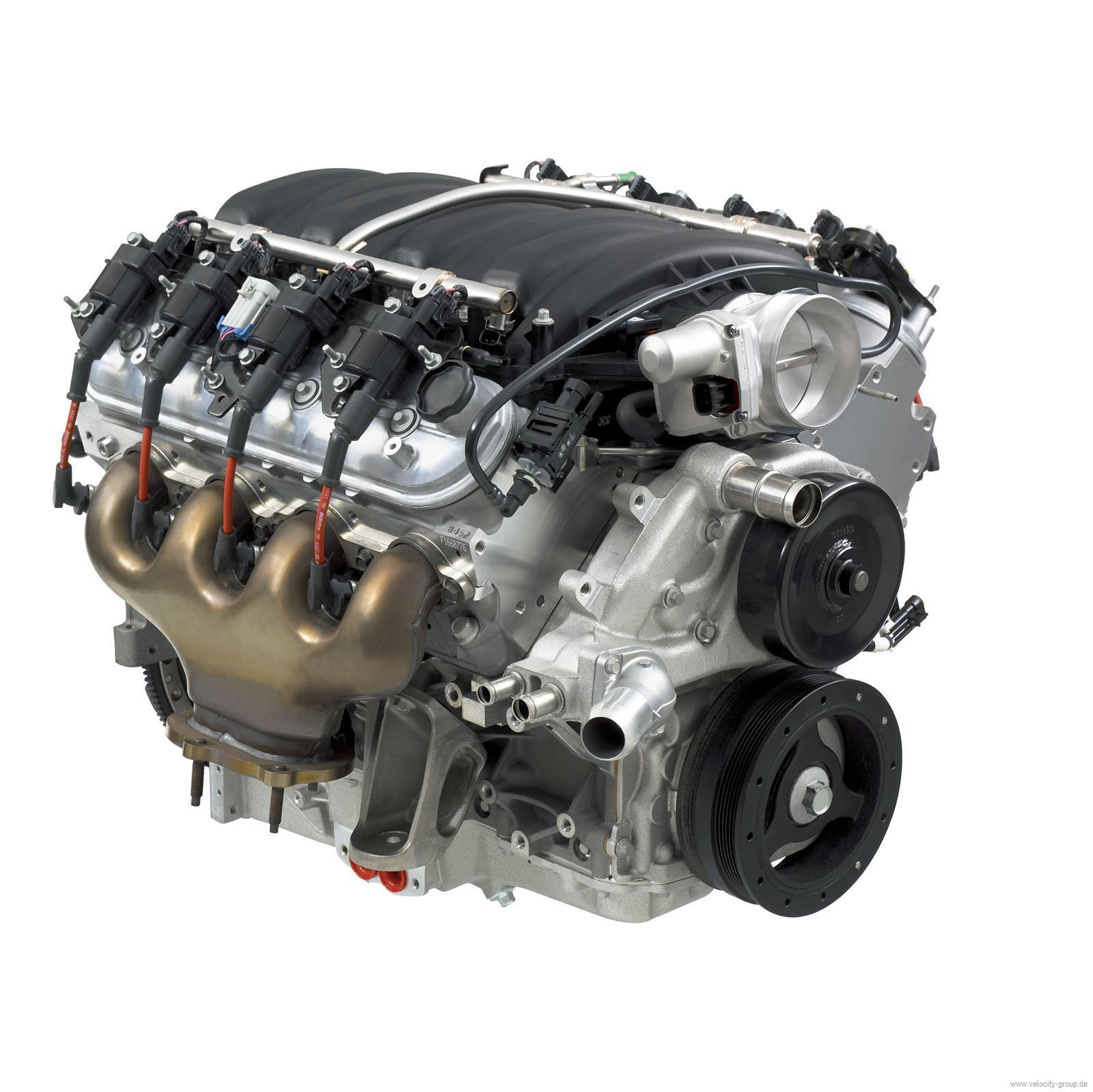 06 13 Chevrolet Corvette Komplettmotor Chevrolet Performance C6