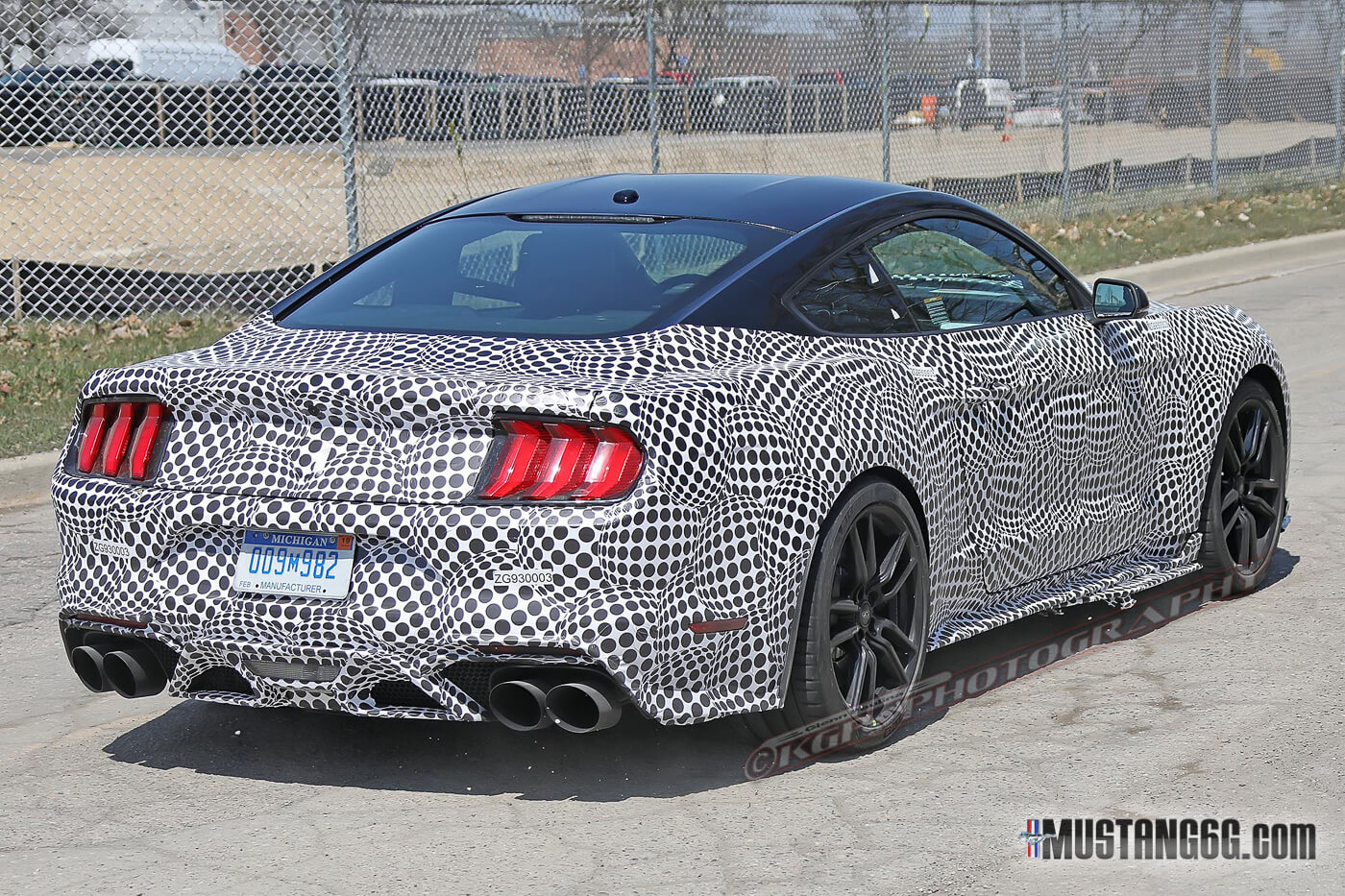 Spy Shots Ford Mustang Svt Gt 500 Picture