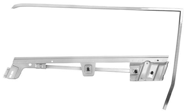 67-68 Ford Mustang Cabrio Rahmen Türscheibe - Links