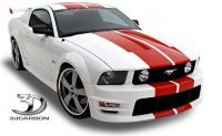05-09 3DCarbon Boy Racer BodyKit - 11 teilig