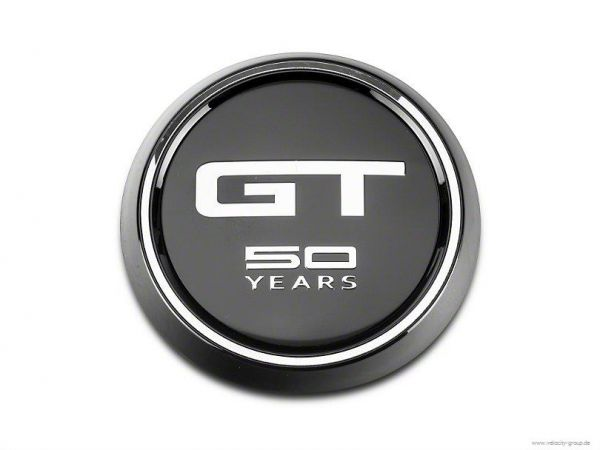 15-20 Ford Mustang Emblem Heckklappe - GT - 50 Years - Anniversary