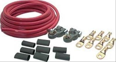 Kabelset zum Verlegen von Batterie in Kofferraum - 1 Batterie (5 mm)