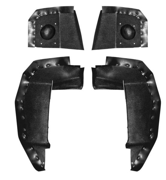 69 & 69-70 Shelby Spritzschutz in Kotflügel
