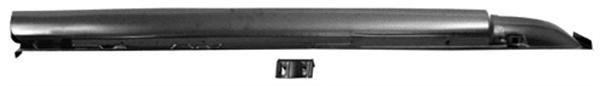 67-68 Coupe/Fastback Seitenschweller komplett - rechts