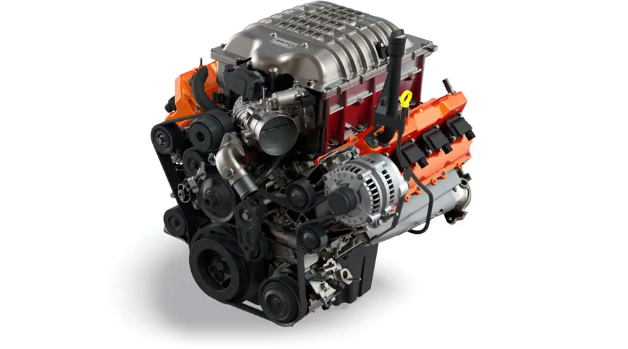 RAM1500 RTX Motor