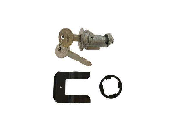 67-71 Ford Mustang Schließzylinder und Schlüssel Kofferraumschloss - Pony Logo auf Schlüssel