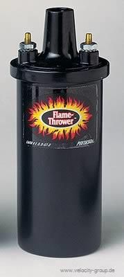 Zündspule - Pertronix Flame Thrower I Schwarz Öl-gefüllt