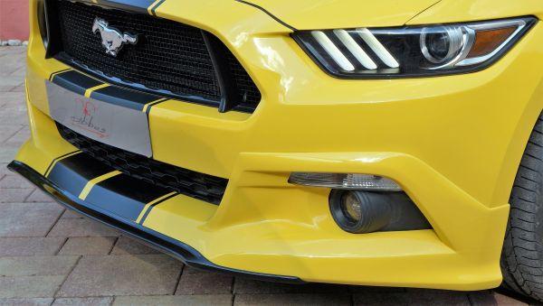 15-17 Ford Mustang Spoiler - Abbes - Vorne - Mit TÜV