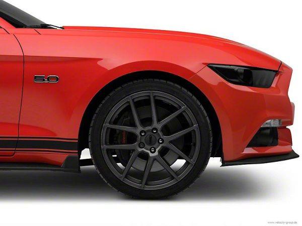 15-17 Ford Mustang Seitenschweller - Diffusor Winglets - Seitenschweller vorne