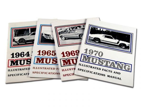 1967 Ford Mustang Technisches Handbuch - Spezifikationen und Preise