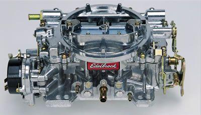 Vergaser - Edelbrock Performer - 600 cfm - Aluminium - Elektrischer Choke - Poliert