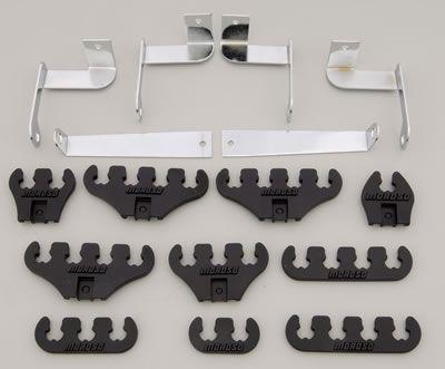 Moroso Halterungen für 7-9 mm Zündkabel (Schwarz)