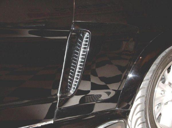 Einsätze für Side Scoops 65/66 GT 350 (poliert)