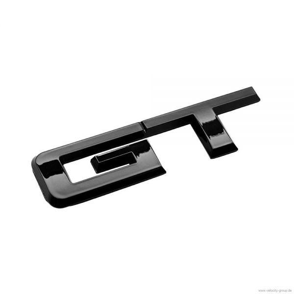 15 18 ford mustang emblem heckklappe gt schwarz gl nzend. Black Bedroom Furniture Sets. Home Design Ideas