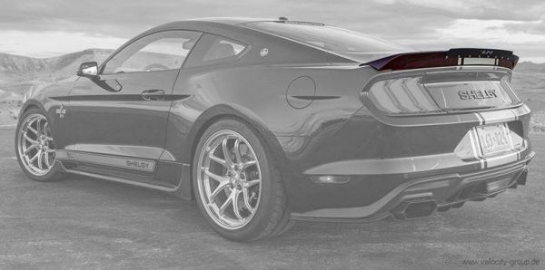 15-20 Ford Mustang Coupe Spoiler - Super Snake Style