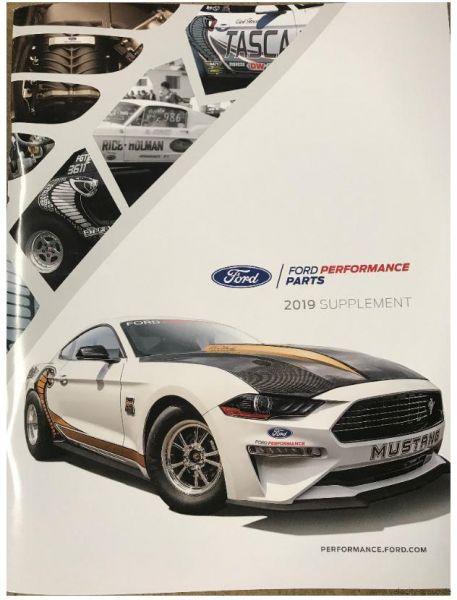 15-19 Ford Mustang Katalog - Ford Racing 2019