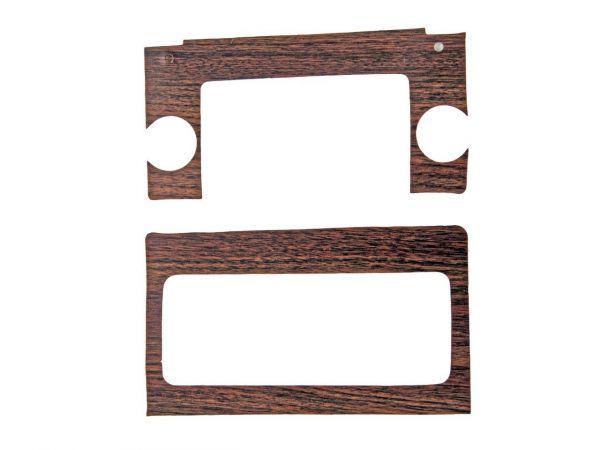 69-70 Ford Mustang Rahmen Radio - Holz Verkleidung