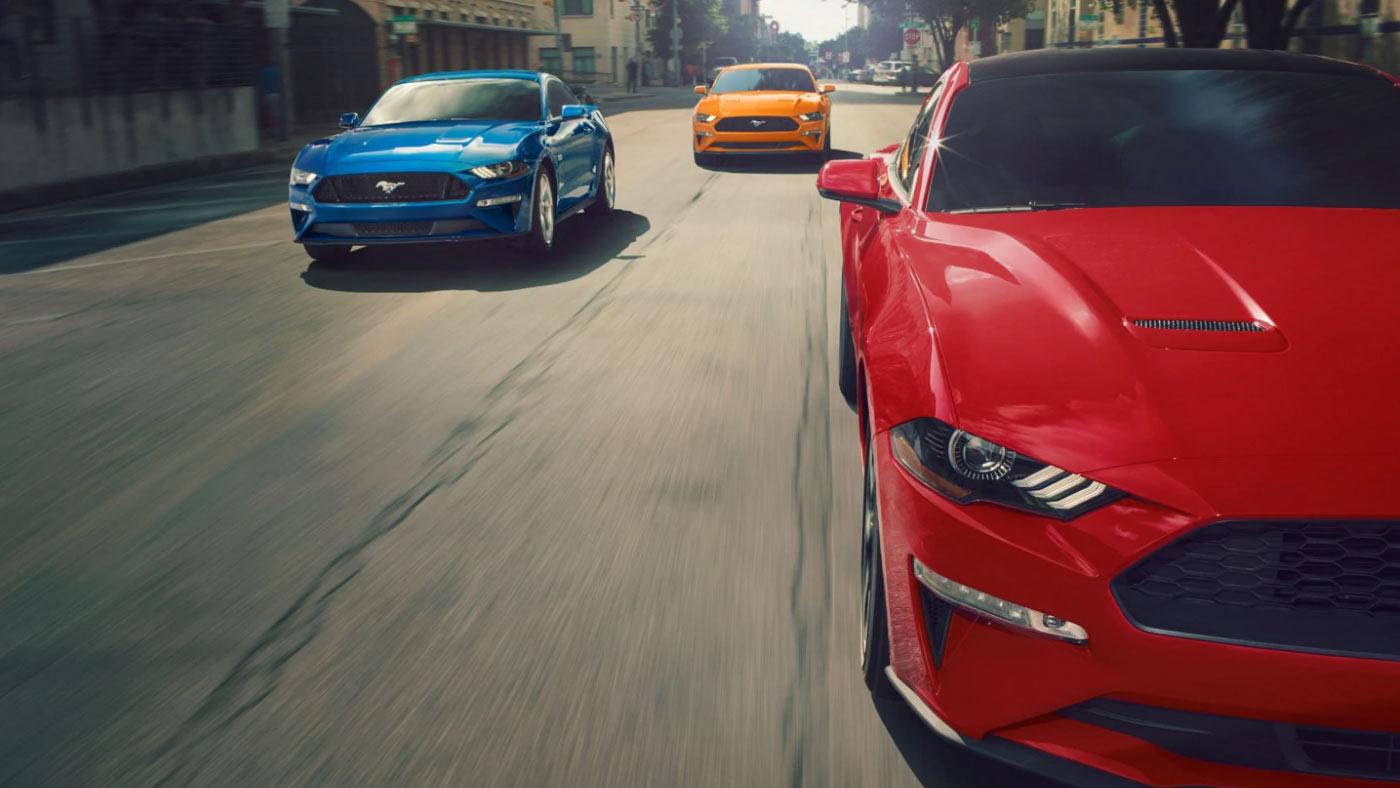 Ford Mustang EcoBoost Edne