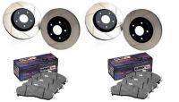 05-14 StopTech geschlitzte Bremsscheiben mit Belägen - Komplettpaket