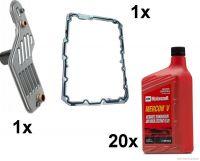 10-14 Ford Mustang Öl Automatikgetriebe - Ölspülung Inkl. Filter & Dichtung