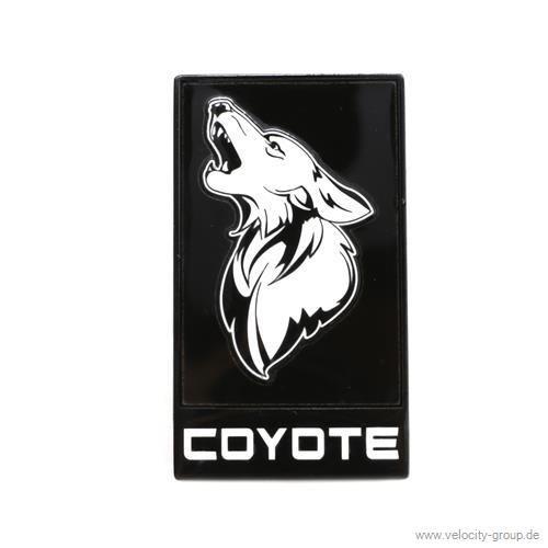 15 19 ford mustang emblem k hlergrill coyote schwarz. Black Bedroom Furniture Sets. Home Design Ideas