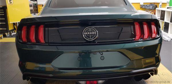 18-19 Ford Mustang Abdeckung Rücklicht - Folie, Rot