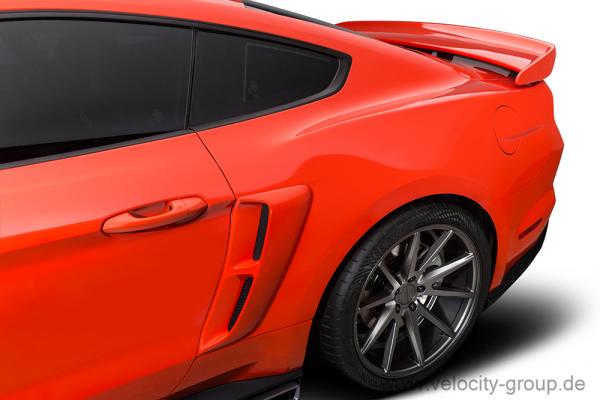 15-19 Ford Mustang Lufteinlass an Seitenwand hinten - Stalker