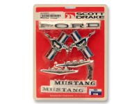 65-66 Ford Mustang Cabrio/Coupe Emblem Set - 289