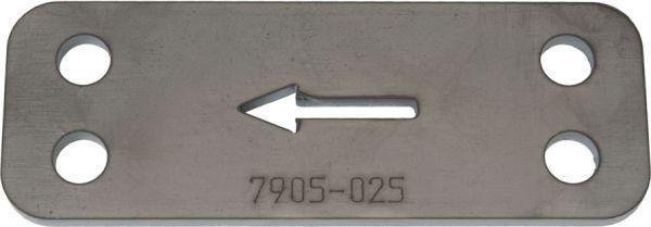 67-70 Bohrschablone für Shelby Drop - 25 mm Tieferlegung