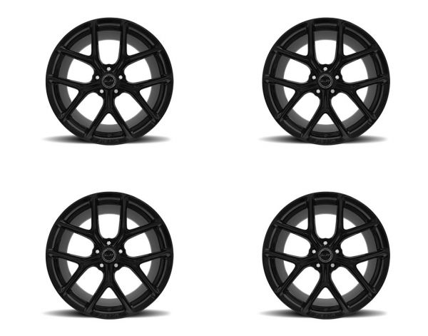 15-21 Ford Mustang Felgensatz - Shelby CS3 - 9,5x20 Zoll und 11x20 Zoll - Schwarz