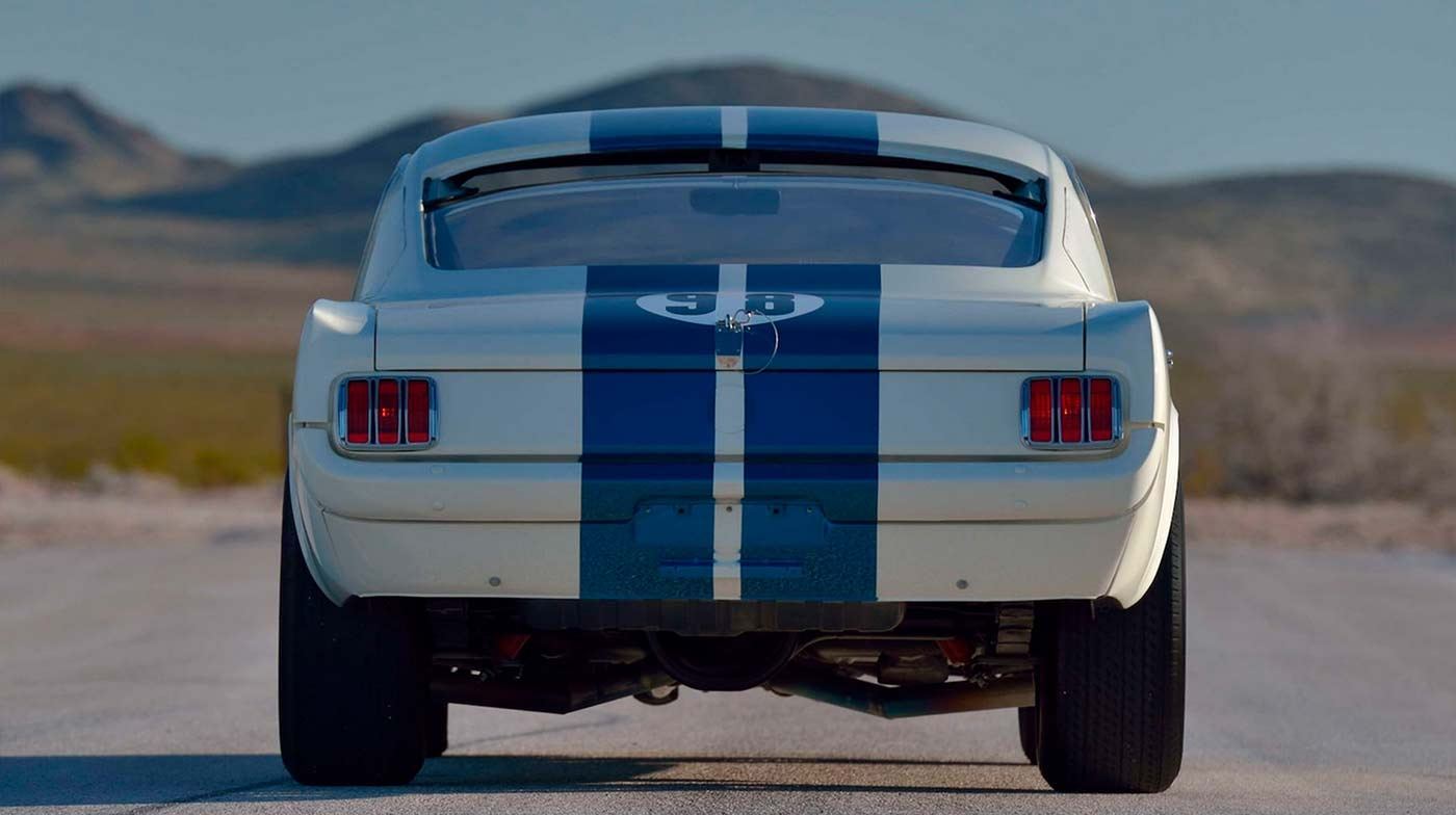 Flying Mustang - 1965 Shelby GT350R