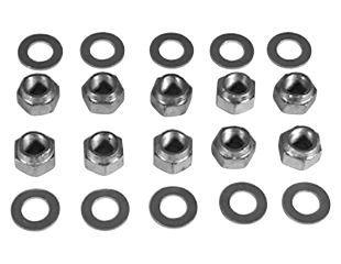 64-73 Muttern und Unterlegscheiben Montage Differential an Achsgehäuse