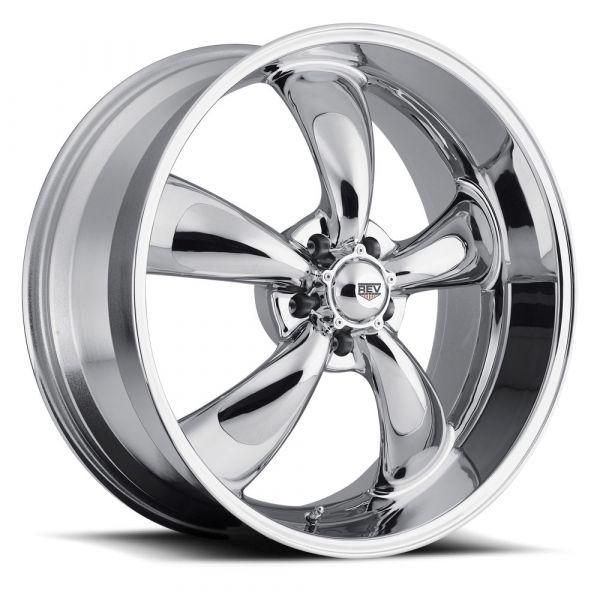 64-73 Ford Mustang  Classic Wheel 17x7 Aluminium verchromt