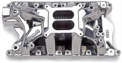 69-73 Ford Mustang (351) Ansaugkrümmer - Edelbrock Performer RPM - Aluminium - Poliert