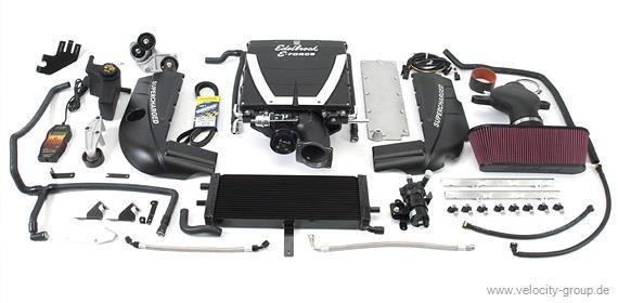 06-11 LS7 Corvette Edelbrock Kompressor - Tuner System