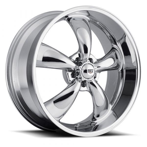 64-73 Ford Mustang  Classic Wheel 17x8 Aluminium verchromt