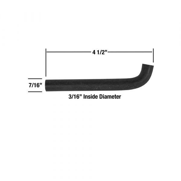schlauch f r anschluss unterdruckmodulator an leitung. Black Bedroom Furniture Sets. Home Design Ideas
