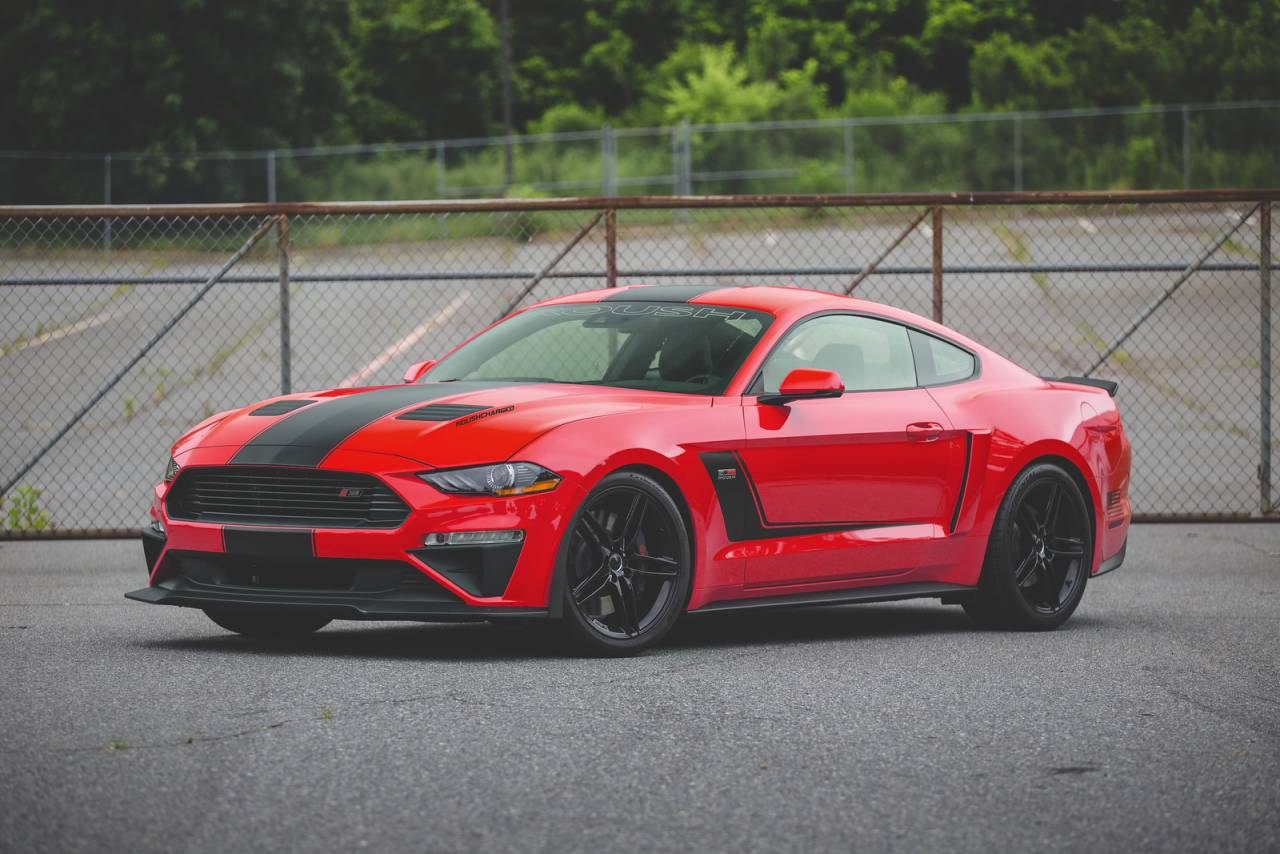 vlcty roush ford mustang