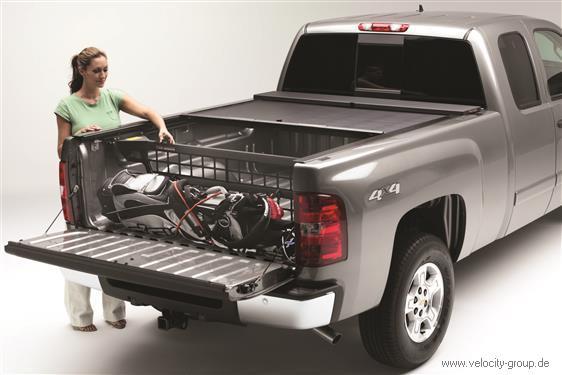 09 17 Dodge/Ram Ladungstrennwand   Roll N Lock   Ohne Rambox   6.5 Ft  Ladefläche