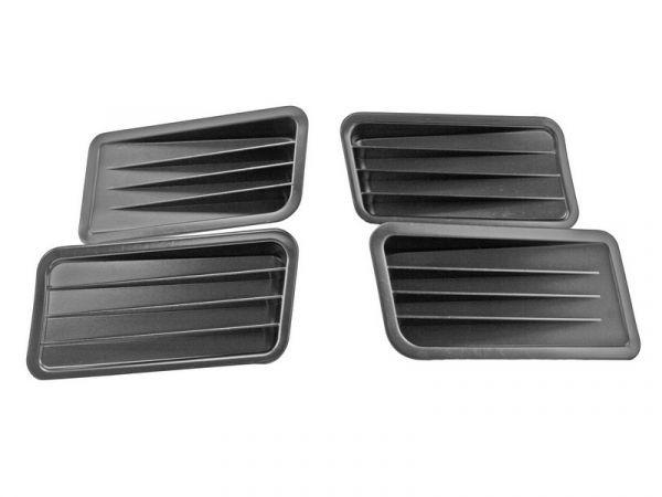 1967 Ford Mustang Zierelement Seitenwand - Stahl, Unlackiert
