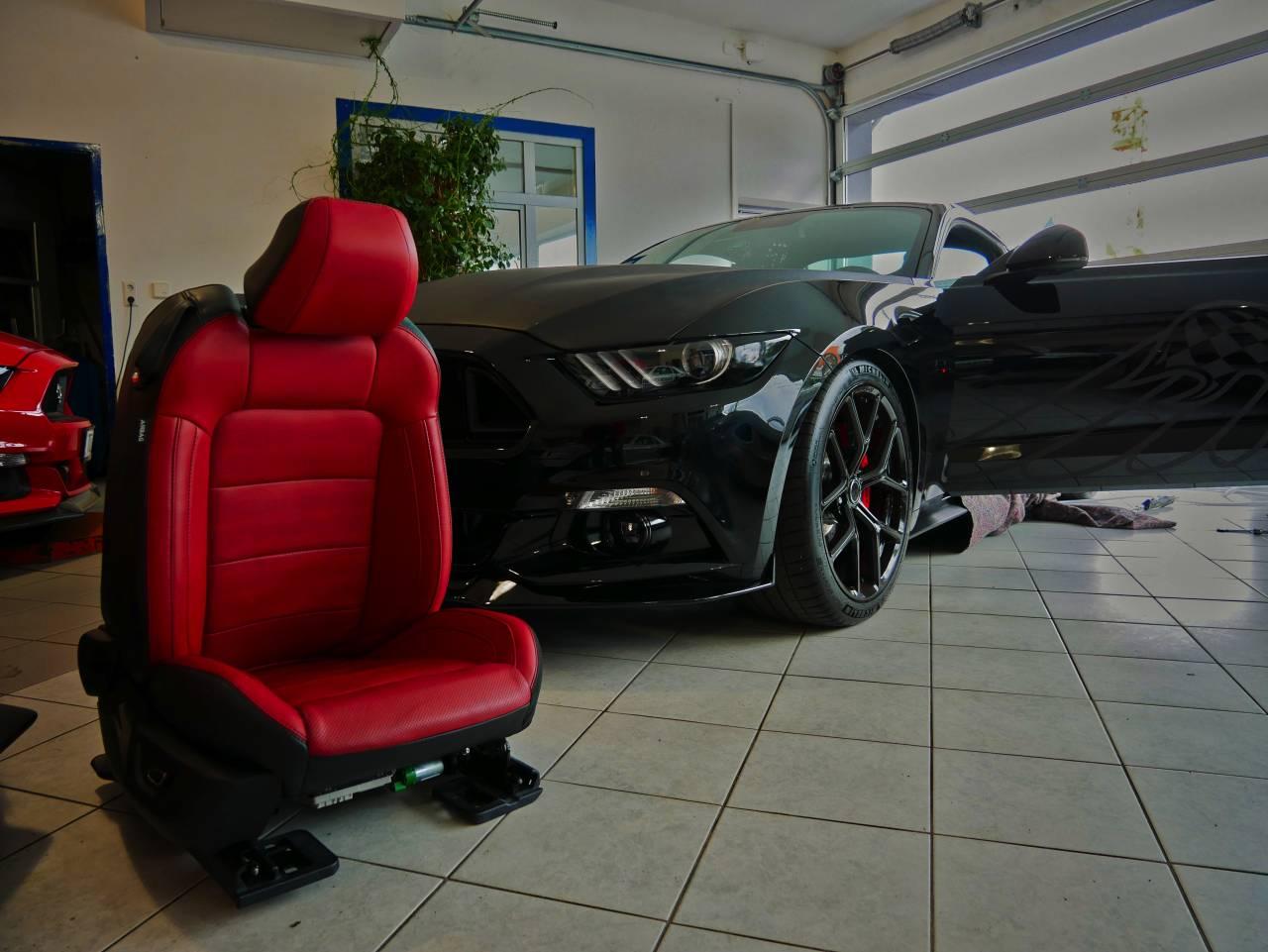 VLCTY Umbau Sitze und Bügel