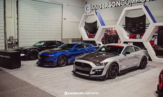 Anderson Composites - SEMA 2019 Carbon Parts