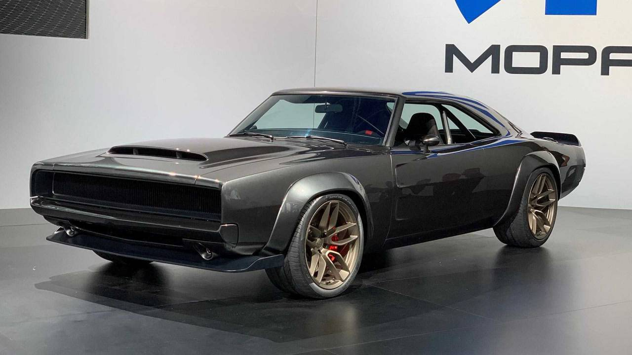 dodge charger sema 2018
