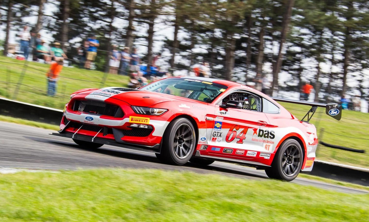 Ford Mustang im Rennsport