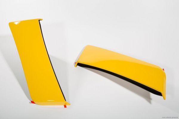 15-20 Ford Mustang Lufteinlass an Seitenwand hinten - ROUSH lackiert Gelb